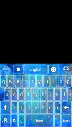 Rainy Day Theme Keyboard