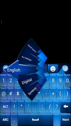 Top Keyboard