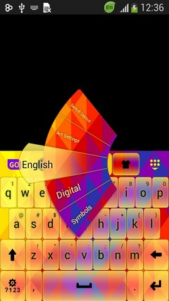 Keyboard for LG Leon