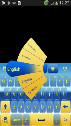 Keyboard for LG Spirit