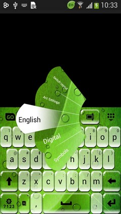 Keyboard for Xperia M4 Aqua
