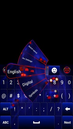 Blur Background Keyboard