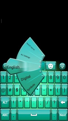 Full HD Keyboard Theme