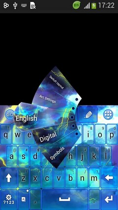 Storm Keyboard Theme