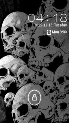 Skulls go locker