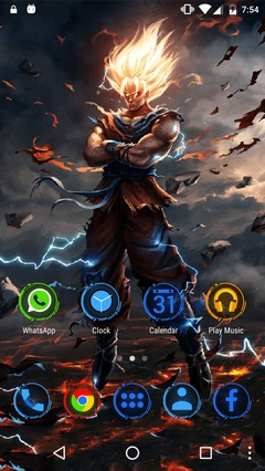 Dragon Ball Z Icon Pack Theme Go