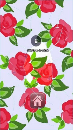 All Red Roses Lock Screen