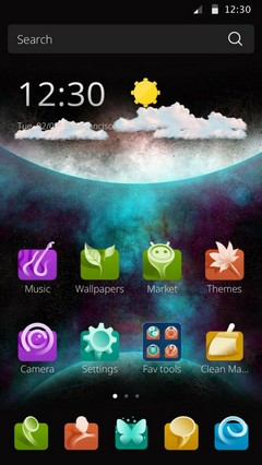 3D Theme for Samsung