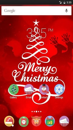 Merry Christmas Multi Launcher Theme