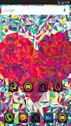 Love heat wide ADW Launcher Theme