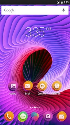 Abstract spiral HD Apex Launcher Theme