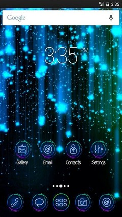 Abstract colors ADW Launcher Theme