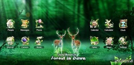 Forest GO LuancherEX Theme v1.0