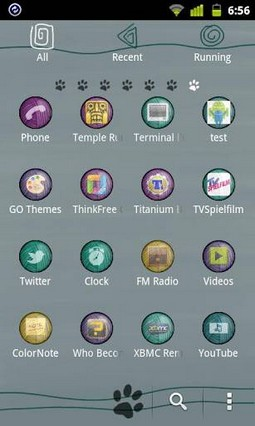 Kitten Theme GO Launcher EX