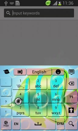Tropical Fish Keyboard