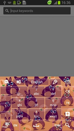 Cute Bunny Keyboard