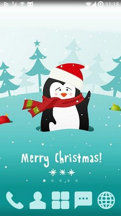 Sweet Penguin Xmas