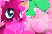pink cats theme 4 GO Launcher-1
