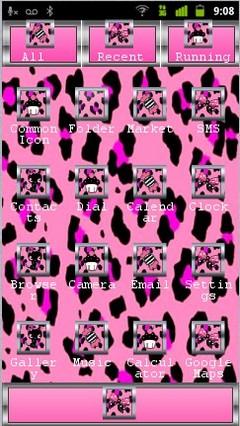 pink animal pattern