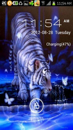 white tiger water
