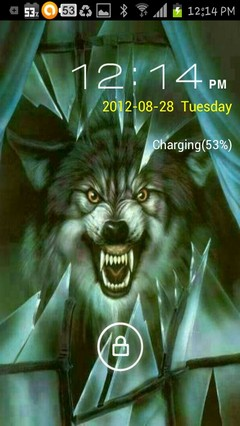 glass wolf