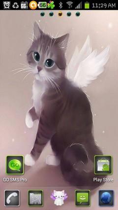 angel kitty