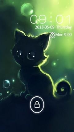 Cute Kitty Locker