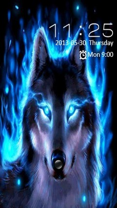 Blue Wolf Locker