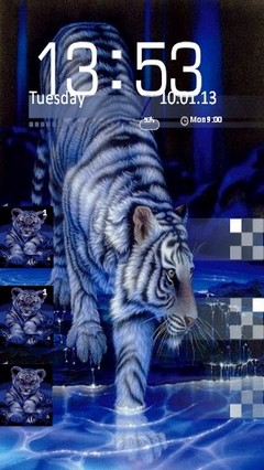 Blue Tiger Locker