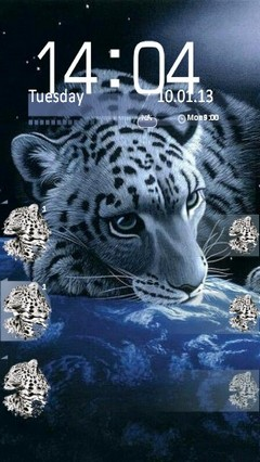 White Leopard Locker