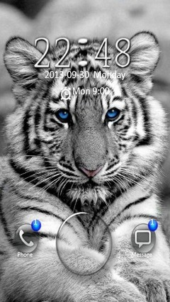 White Tiger Go Locker