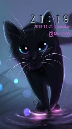 Black Cat Go Locker
