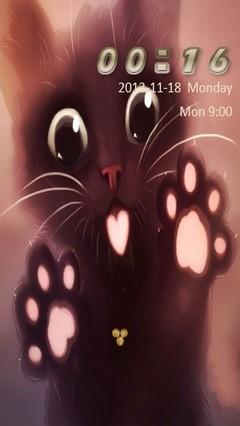 Cute Kitty Go Locker
