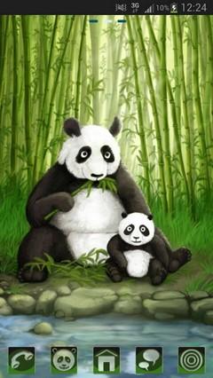 GO Launcher EX Theme Panda