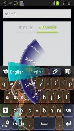 Chameleon Keyboard Theme-release