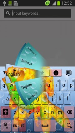 Golden Fish Keyboard