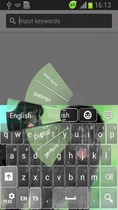 Terra Nova Keyboard