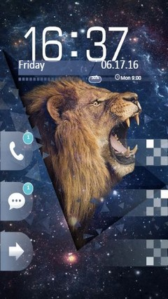 Roaring Lion Go Locker Theme