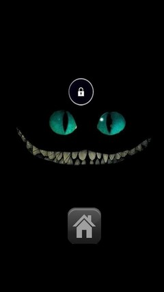 Creepy Cat Lock Screen