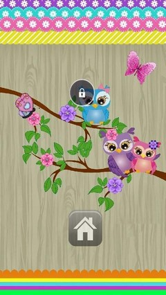 Cute Owls Lock Screen