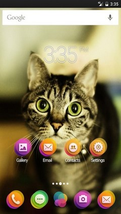 Kitty Go Launcher (Multi) Theme