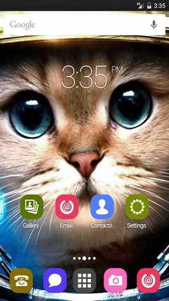 Spacecat fun ADW Launcher Theme