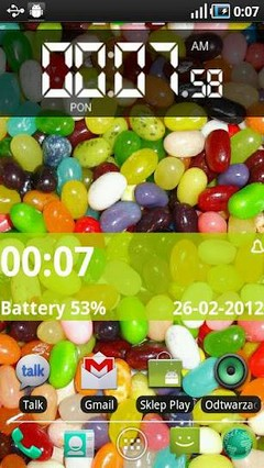 Jelly Beans Go Launcher Theme