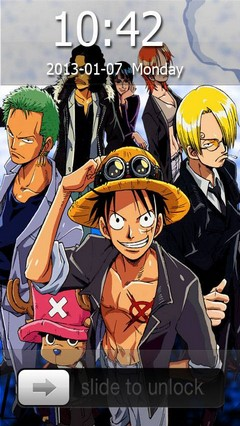One Piece Wanted Go Locker Theme