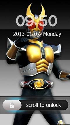 Kamen Rider Agito Go Locker Theme for Android