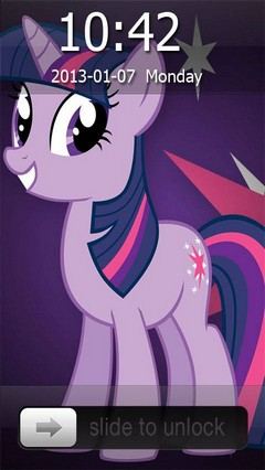 Twilight Sparkle Go Lockler Theme