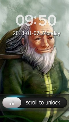 Iroh Go Locker Theme for Android