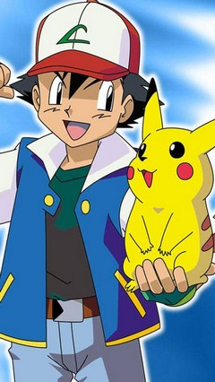 Ash Ketchum Go Locker Theme for Android Phone