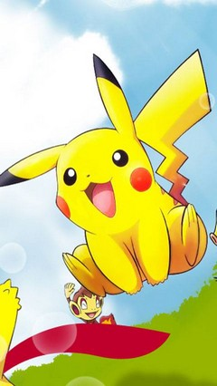 Ash's Pikachu Go Locker Theme for Android Phone