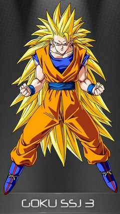 Goku ssj 3 Go Locker Theme for Android Phone